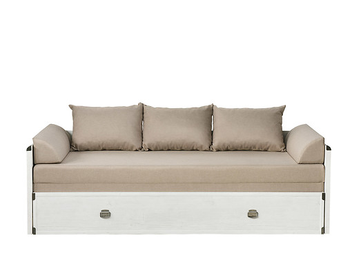 Rozkládací postel 80 až 160 cm - BRW - INDIANA - JLOZ 80/160 (Borovice Canyon)